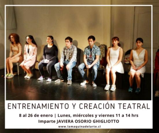 Enero'18 / ENTRENAMIENTO Y CREACIÓN TEATRAL
