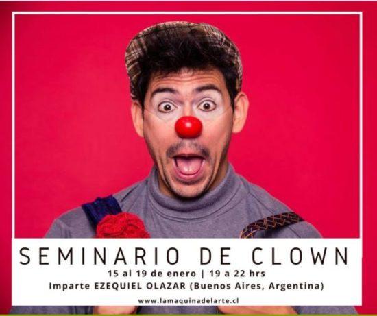 Enero'18/ SEMINARIO DE CLOWN