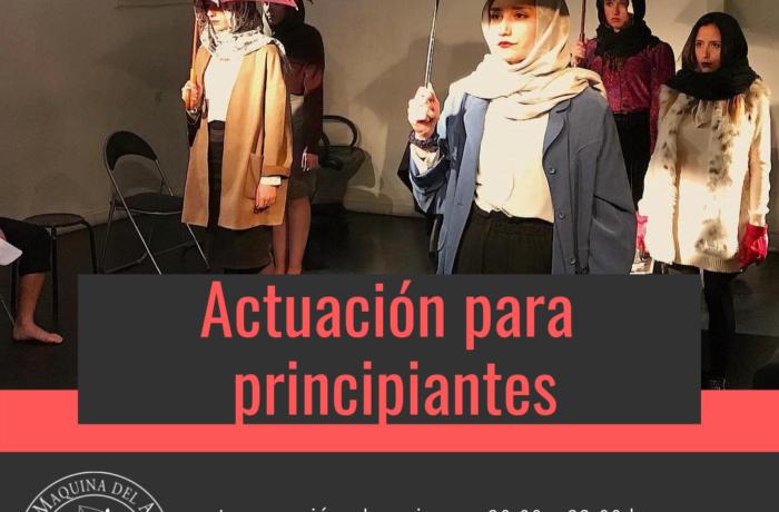 ACTUACIÓN PARA PRINCIPIANTES – ENERO