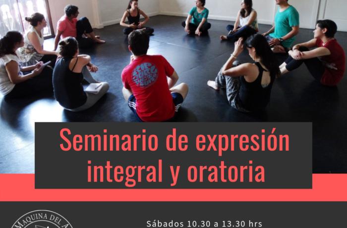 SEMINARIO DE EXPRESIÓN INTEGRAL Y ORATORIA/ Enero